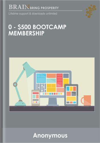 0 – $500 Bootcamp Membership – Paykickstart