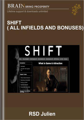 SHIFT ( all infields and bonuses) – RSD Julien