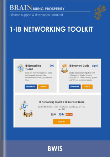 IB Networking Toolkit – BWIS
