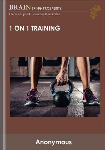 1 On 1 Training – NBD Fitness