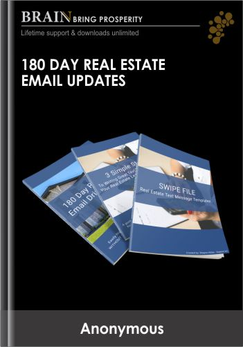 180 Day Real Estate Email Updates