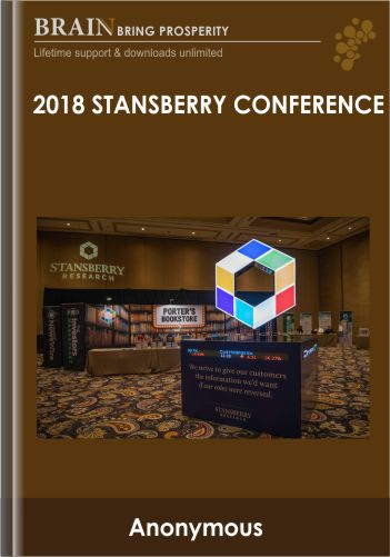 2018 Stansberry Conference – Darien Boyd