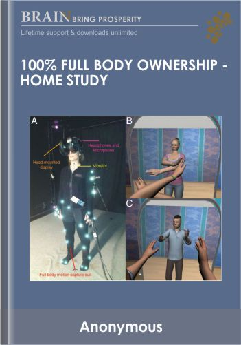 100% Full Body Ownership – Home Study